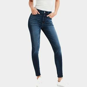 American Eagle Dark Wash Skinny Jeans Jeggings
